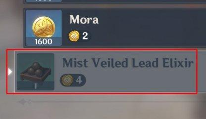 Mist Veiled Lead Elixir Buy