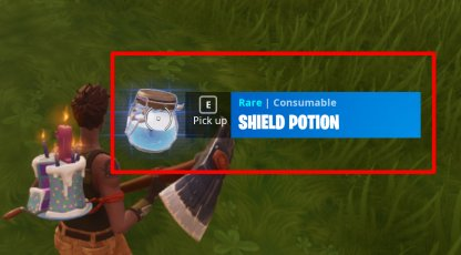 Pick Up Potions and Bandages