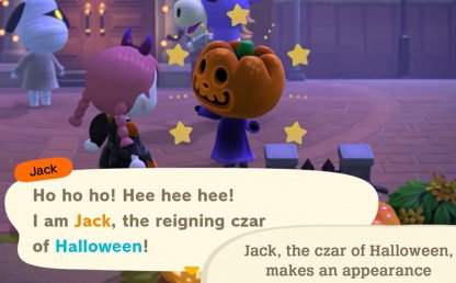 Give Candy To Jack