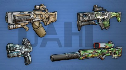 DAHL - Weapon Brand Features