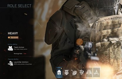 Select Roles for the Mission