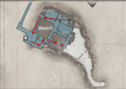How to  Get To Mother-Plated Door (Map)