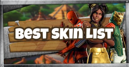 Best Skin Ranking & Review