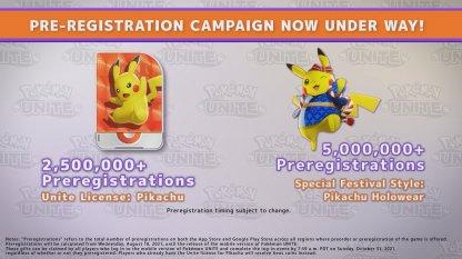 Pre-registration rewards