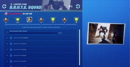 Complete 3 BRUTE Squad Challenges