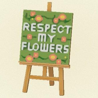Flower sign 2