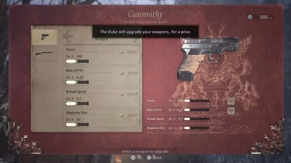 Weapon Upgrade Are Permanent