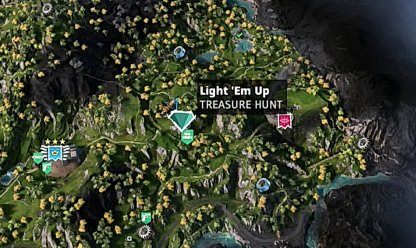 Light 'Em Up - Map Location