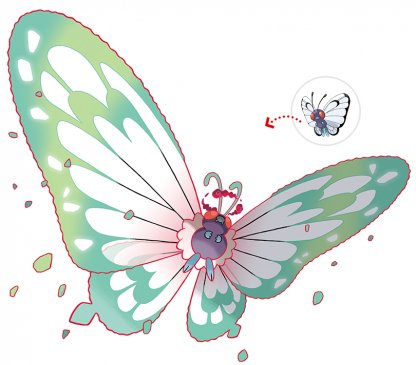 Butterfree Gigantamax