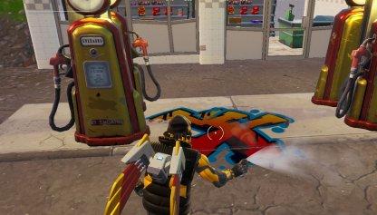 Spray 3 Gas Stations