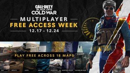 Free COD Cold War Multiplayer Weekend (December)