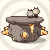 Round Stone Table