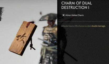 Receive Charm Of Dual Destruction I