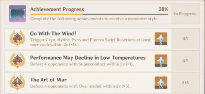 Go With The Wind! - Achievement Overview & Rewards