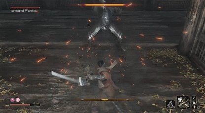 Deflect And Parry His Attacks