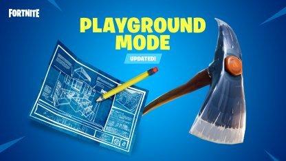 Fortnite Playground Custom Options