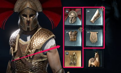 Armor Stats & Rarity List - Assassin's Creed Odyssey