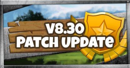 v8.30 Patch Update - April 10, 2019