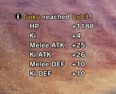 Level Up Stats