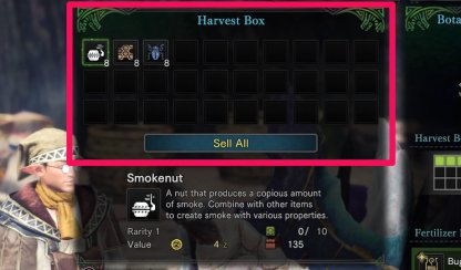 Harvest Box Can Have Up To 30 Slots