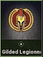 Gilded Legionnaire Emblem