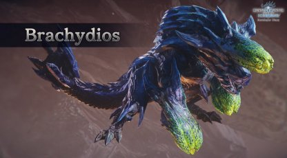 Brachydios Is Arriving In MHW: Iceborne