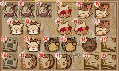 All Moogle Stamps