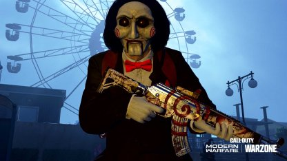 SAW Skin (Billy the Puppet) For Morte