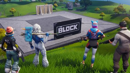 Fortnite, Latest News & Update, Appearance Of The Block
