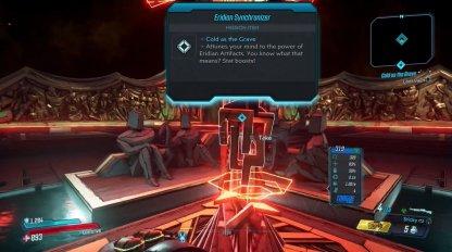 Eridian Synchronizer Artifact Unlock