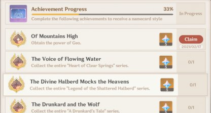 Of Mountain High - Achievement Overview & Rewards
