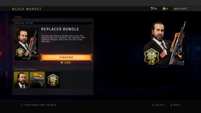 Get The Replacer Bundle At The Black Market