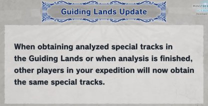 Players Obtain Same Special Tracks