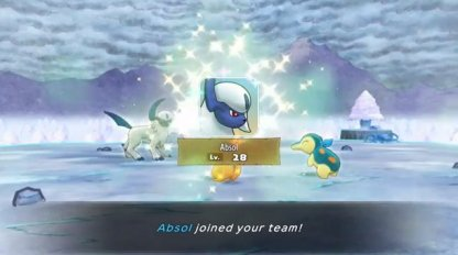 Absol will Join the Team After Boss