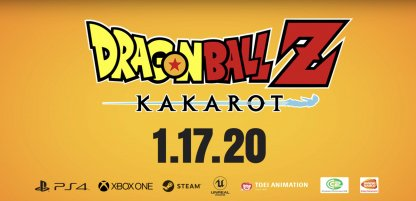 DBZ Kakarot for the PS4 XBox One PC