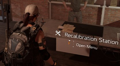 Go To Recalibration Station In Base of Operations
