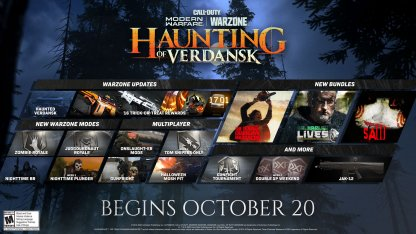 Limited-Time Haunting Of Verdansk Event Bundle