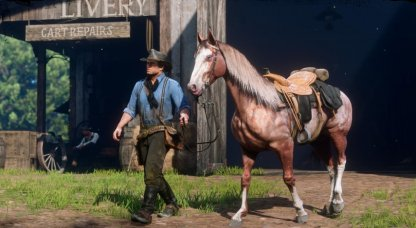 Red Dead Redemption 2 Horses