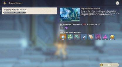 Eagle's Gate Domain - Rewards & Locations