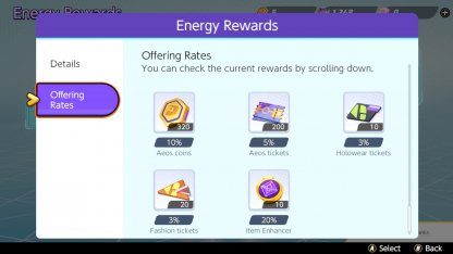 Received From Energy Rewards