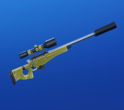 YELLOW GLOW Wrap - Sniper Rifle