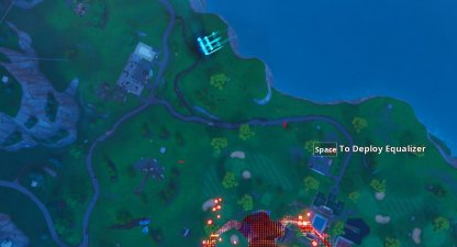 X-4 Time Trial Location - North West Of Lazy Links
