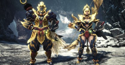 Furious Rajang Weapons & Armor