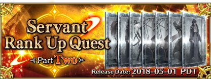 Rank Up Quests Part Two banner