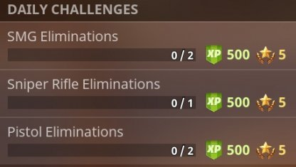Level Up Faster With Daily Challenges