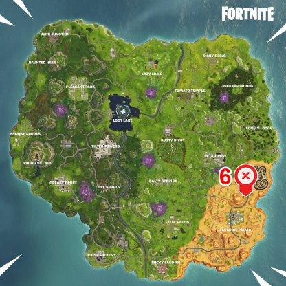 Fortnite Season 6 Week 5 Radar Speed Challenge