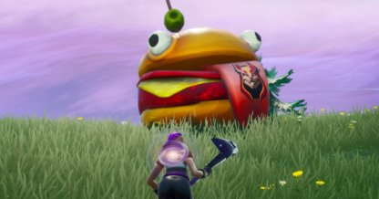Durrr Burger Head, Dinosaur & Stone Head - Week 1 Challenges