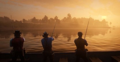 Red Dead Redemption 2 Fishing