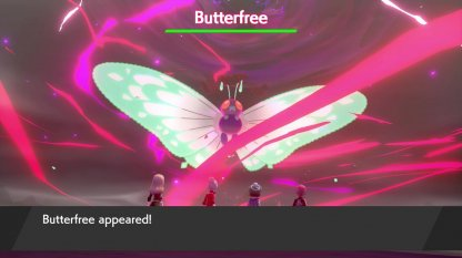 Fight Gigantamax Butterfree