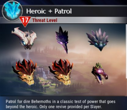 Heroic + Variant Behemoths